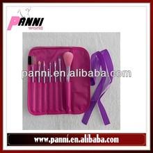 Wonderful makeup brush set 7pcs durable cosmetic brush 3 color available