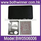 BW001 outdoor multi tool survival kit pocket credit card