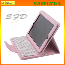 2014 New Coming Wireless Bluetooth Keyboard for iPad 2 3 4 Bluetooth Keyboard with Leather Case