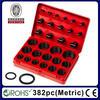 Rohs Certification 382pc Assorted Metric O-Ring Repairing Kit
