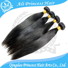 Factory price 100% super quality wholesale pure indian remy virgin human hair weft