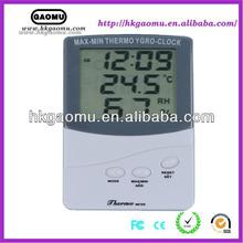 LCD display wall clock digital barometer thermometer hygrometer htc-1