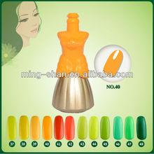 No.40 gamat gel beauty choices colored mixcoco led gel polish
