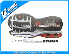 shoe sole material for sport shoes, EVA+RB shoe sole material
