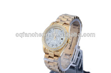 2015 Top fashion stone diamond bezel men luxury watch wholesale wrist watch