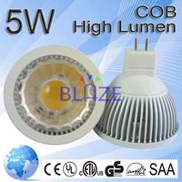 5W COB LED Spotlight MR16 2500k Warm White replace 50W