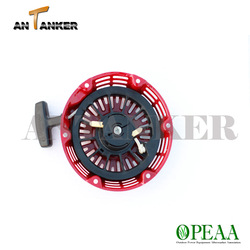 5.5hp Red 28400-ZH8-013YA With plastic ratchet small engine spare GX160 2 stroke dirt bike 49cc pull start