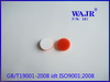 white teflon and red silicone shim
