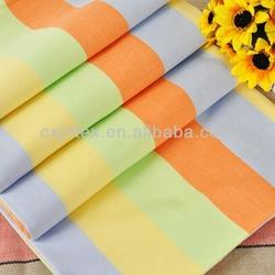 Microfiber 100% polyester polular stripe printed bedding set fabric