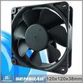 Alto fluxo de ar do computador caso cooler dc refrigeração ventilador sem escova 120*120*38mm cooler caso