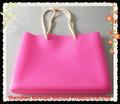Novità silicone borsa, 2014 silicone borsa da spiaggia, sacchetto di silicone moda signora