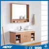 Simple and Personality Oakwood Bathroom Vanity with Basin