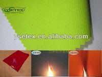 CVC anti-acid flame retardant+anti-static fabric used in gas station