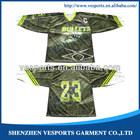 Reversible hockey jerseys sublimated