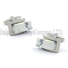 showily and dignity stone inlaid other colors accept mens gemstone cufflinks