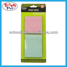 Blister packed memo stick notes/self sticky notes