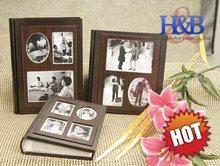 Lastest popular wooden wedding album photo album gifts