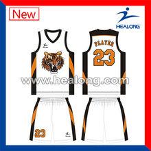 wholesale blank custom youth fashion basketball jersey