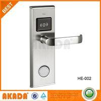 High Corrosion Resistence Hotel Rfid Card Lock
