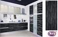 el más reciente de pvc listo hecho gabinetes de la cocina