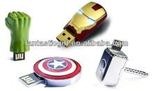 Iron man avenger usb, newest designs avenger usb flash drive