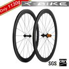 2014 XBIKE high quality 700c 50mm full carbon road bicycle wheels