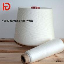 cheap price china factory 100% bamboo yarn