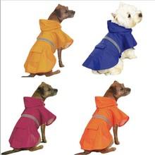 Caliente la venta de la alta calidad reflexiva impermeable grande del perro / venta al por mayor del perro del impermeable