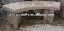 pink granite outdoor garden stone bench on sale