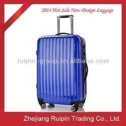 "20""24""28"" dark blue bright surface luggage set"