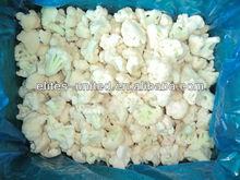 frozen white cauliflowers