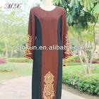 islamic fashion clothing dubai long sleeves kaftans for women embroidery