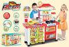 2014 new children Multifunctional kitchen play set toy