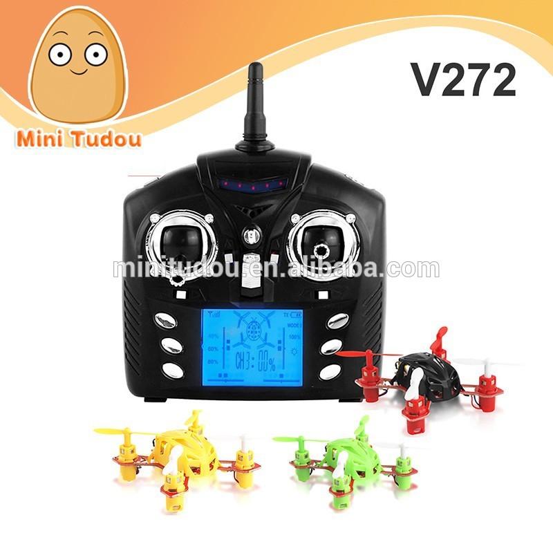 Novos Mini Quadcopter WL Brinquedos Velocity V272 RC Quadcopter