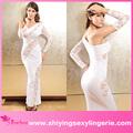 الجملة الرباط الأبيض الأنيق فستان السهرة