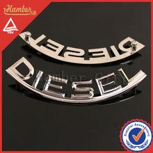 chrome plating diesel car emblem