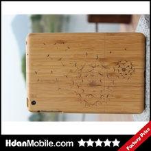Dandelion Bamboo Wood Smart Case for iPad Mini Smart Cover Case