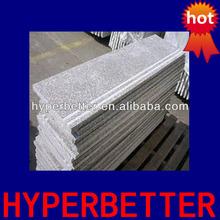 Chinese G603 granite stair with slip groove