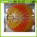 amarillo 2014 bola del zorb de alta calidad baratos resplandor zorb bola inflable para los niños