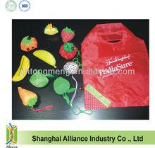 Apple+Tomato+ Banana+Strawberry+Dragon Fruit Foldable Bag