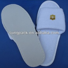 New arrival open toe disposable slippers for 4-5star hotel