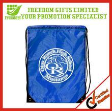 Custom Polyester Wholesale Drawstring Shopping Bag