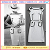 Wholesales Ladies Smart Cheap Vintage Knee-length Casual Pencil Dresses for Women