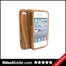 Zebra Wood Back Cover Case for iphone 4 Hard Back Case