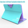 flip leather case for amazon tablet pc