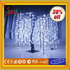 2014 High-simulation white led weeping willow tree lighting with CE ROHS GS BS UL SAA