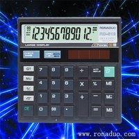small scientific calculator 12-digit solar check function calculator desk top calculator