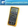 Auto rango multímetro con diodo de la ce y la prueba de hfe 100hz/1 khz/10 khz/100 khz/1 mhz/30 mhz