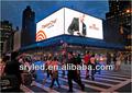 高解像度屋外フルp10xxはビデオledディスプレイボード広告主導のビデオディスプレイ/ledビデオボード