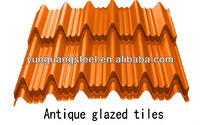 Colored metal roofing/coated steel plate